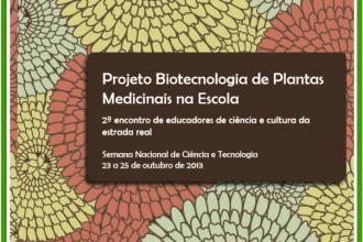 Projeto Biotecnologia de Plantas Medicinais na Escola